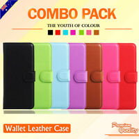 For LG Q Stylus Premium Wallet Leather Card Pocket Holder Stand Flip Case Cover