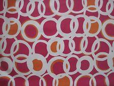 "Harlequin Scion Tessuto per Tende Design ""ZSA ZSA"" 5.3 METRI Peperoncino/Lino/peonia"
