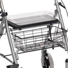 Drive SR8 Steel Rollator Walker Walking Frame Mobility Aid Folding Seat Basket