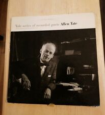 Yale University Series Of Recorded Poets Allen Tate Vinyl Record Book set album