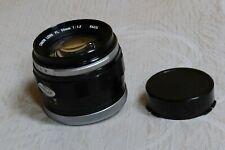 Canon Lens FL 55mm/f1.2 with original rear cap MINT- Vintage RARE Pristine Glass