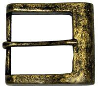 "Square Heel Bar Single Prong Center Bar Belt Buckle 1-1/2"" (38mm) wide"