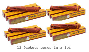 12 ( Twelve Packets ) of Potala Incense Tibetan Incense Meditation Incense Room