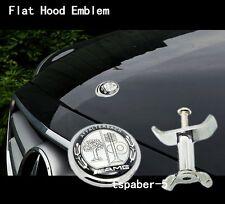 Flat hood emblem badge kit for AMG W204 W205  W212 W221 W220  C-class E-class