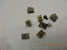 BMW K100 LT K 100 1000cc 1987 wind screen mounting clips C4