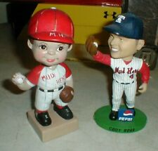 Lot-2 Toledo Mud Hens Bobblehead Dolls Vintage Style & Player CODY ROSS Bobble