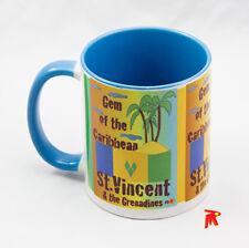 SAINT VINCENT ET LES GRENADINES Gem of the Caribbean Blue Mug