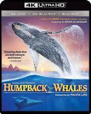 IMAX HUMPBACK WHALES New New 4K Ultra HD UHD Blu-ray + 3D Blu-ray + Blu-ray