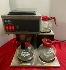 Wilbur Curtis Coffee Maker Pourover 3 Station With 2 Lower Amp 1 Upper 60oz Brewer