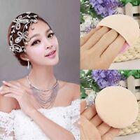 2Pcs Large Facial Beauty Sponge Face Body Powder Puff Pads Makeup Cosmetic Tool