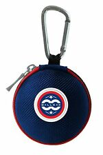 Ballsak USA Clip-on Carry Cue Ball Case for Pool Balls to Cue Stick Bags - RWB