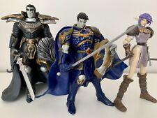 Warlands Lot Vampire Prince Aalok King Malagen Elf Elessa Vintage Action Figures