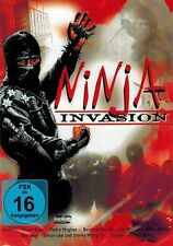 DVD NEU/OVP - Ninja Invasion - Stuart Steen, Pedro Hughes & Bernard Geurds