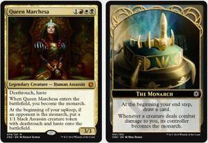 Magic mazzo commander Queen Marchesa pillowfort, no damage, competitive edh