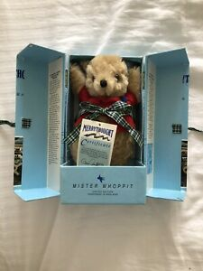 Limited Edition Merrythought Bear Mister Whoppit