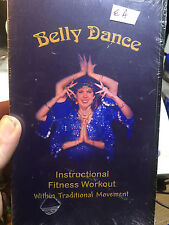BELLYDANCE---FITNESS WORKOUT (TRADITIONAL WORKOUT)---NEW SEALED VHS