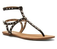 DV By Dolce Vita Women's 'Atara' Leather Sandals Black Leather 7.5 *Pre-owned*