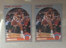 1990-91 NBA Hoops #205 Mark Jackson (2) with Mendez Brothers NM