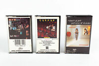 Kansas, Robert Plant, REO Speedwagon: Pop Rock Cassette Tapes Lot of 3