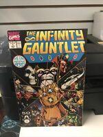 The Infinity Gauntlet #1 (Jul 1991, Marvel) NM - KEY