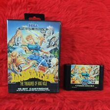 *Sega Mega Drive LANDSTALKER The Treasures of King Nole (NI) PAL UK Version