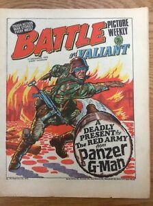 Battle and Valiant 11/12/76 Major Easy, Darkie's Mob, D-Day Dawson IPC UK comic