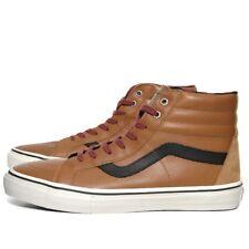 VANS Of The Wall Men's SK8 HI LX Shoes - Brown - UK 6.5 - New
