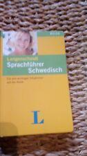 Langenscheidt Sprachführer schwedisch  15x10x1,7cm