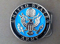 US Army  Solid  Belt Buckle  Insignia