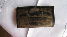 mercerie ancienne jolie pochette contenant 4 petits paquets d'aiguilles