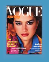 VOGUE- FEBRUARY 1980-BROOKE SHIELDS-GIA CARANGI-RENE RUSSO-MICHAELE VOLLBRACHT