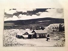 old postcard - RPPC, MATCHLESS MINE MUSEUM, LEADVILLE, CO