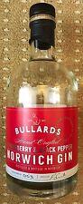 Bullards Strawberry Gin - Empty Bottle - Rare Norwich Craft Gin Bottle FREEPOST
