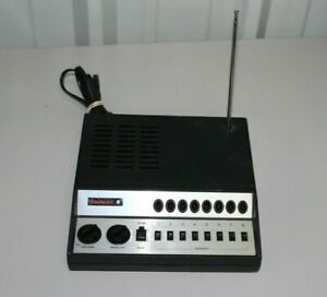 Bearcat 5 Model BC-5 8 Channel Scanner Vintage Black/Silver 1980s - TESTED