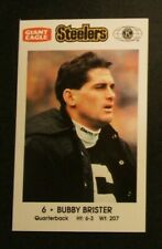 1992 Crime Prevention Football card, Pittsburgh Steelers - BUBBY BRISTER
