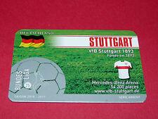 RARE FOOTBALL CARD FOOT2PASS 2010-2011 VFB STUTTGART FUSSBALL BUNDESLIGA