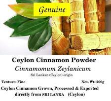 Ceylon Cinnamon Powder- Cinnamomum Zeylanicum- from SRI LANKA- 200g