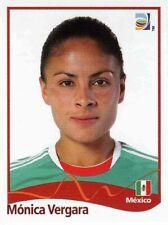 Panini FIFA World Cup 2011 Germany Women Sticker #154 Monica Vergara