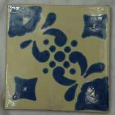 16 x Ceramic Mexican Wall Tile Hand Painted-Made Mexico Terracotta Tiles R75