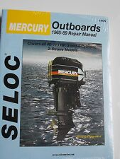 MERCURY OUTBOARD REPAIR SERVICE MANUAL 1965-1989  40 to 115 2 STROKE SELOC 1406