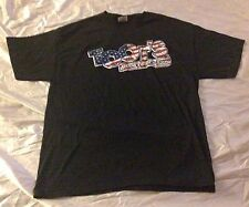 TOOT's GOOD FOOD & FUN T-Shirt Smyrna Tennessee American Flag Red White & Blue