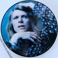 DAVID BOWIE HUNKY DORY PICTURE DISC VINYL LP ANDY WARHOL NM VERY RARE