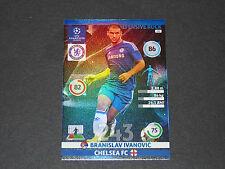 IVANOVIC DEF. ROCK CHELSEA BLUES UEFA PANINI FOOTBALL CHAMPIONS LEAGUE 2014 2015