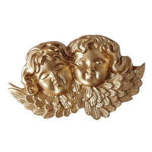 Engelsfigur Engel Skulptur   Statue Gold