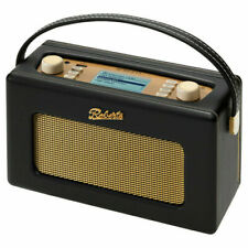 Roberts Revival istream2 DAB/FM internet Digital Radio USB, in Black,