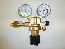 Druckminderer Argon/CO2, einstufig, Hinterdruck regelbar (0-32 bar / 30 l/min)