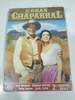 El Gran Chaparral Segunda Temporada Parte 2 - DVD Español Ingles Nueva