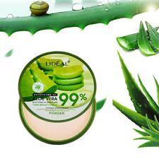 Natural Aloe Vera Smooth Foundation Pressed Powder Moisturizing Powder MakeupBe