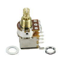 A500K Guitar Push Push Potentiometer Pot Switch Audio Taper Control Short Shaft