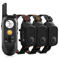 Rechargeable Remote Dog Training Collar Voice Recording Waterproof Pet Trainer